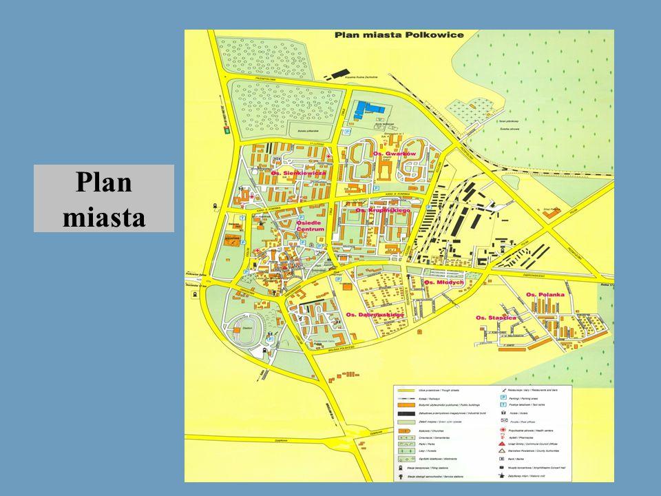 Plan miasta Powrót