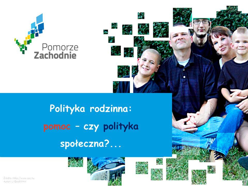 Polityka rodzinna: pomoc – czy polityka społeczna ...