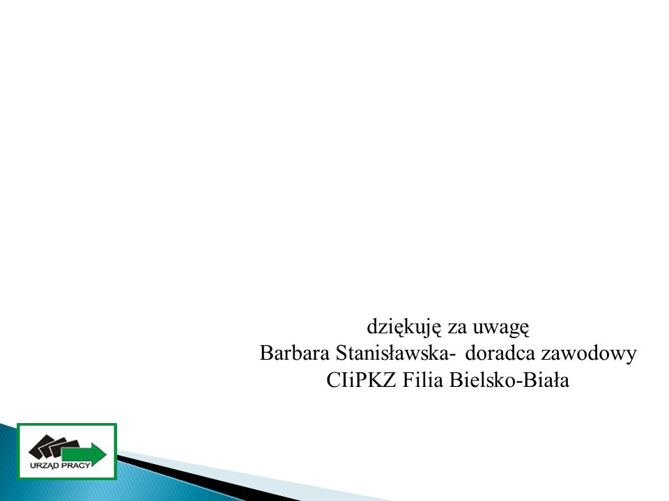 Barbara Stanisławska- doradca zawodowy CIiPKZ Filia Bielsko-Biała