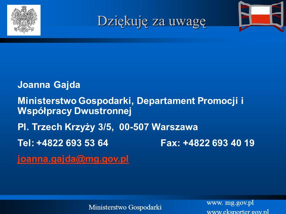 Ministerstwo Gospodarki
