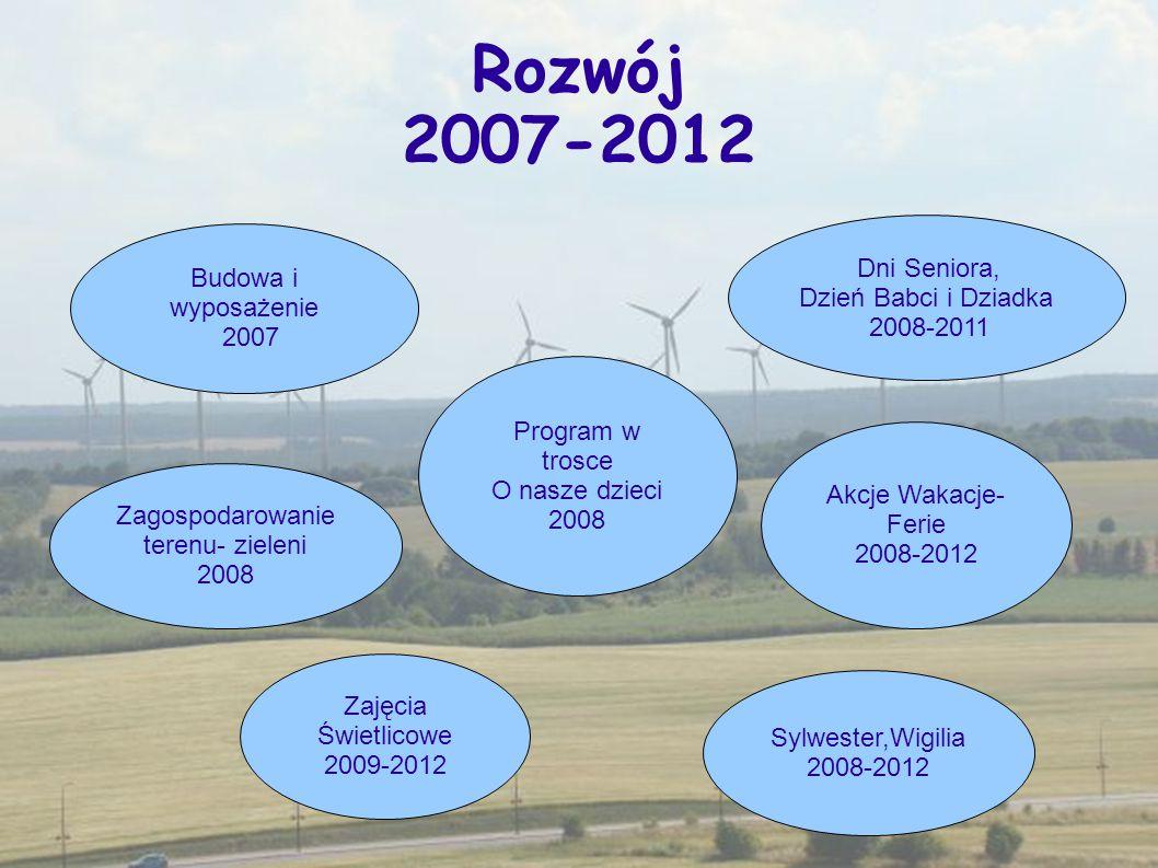 Rozwój 2007-2012 Dni Seniora, Budowa i wyposażenie