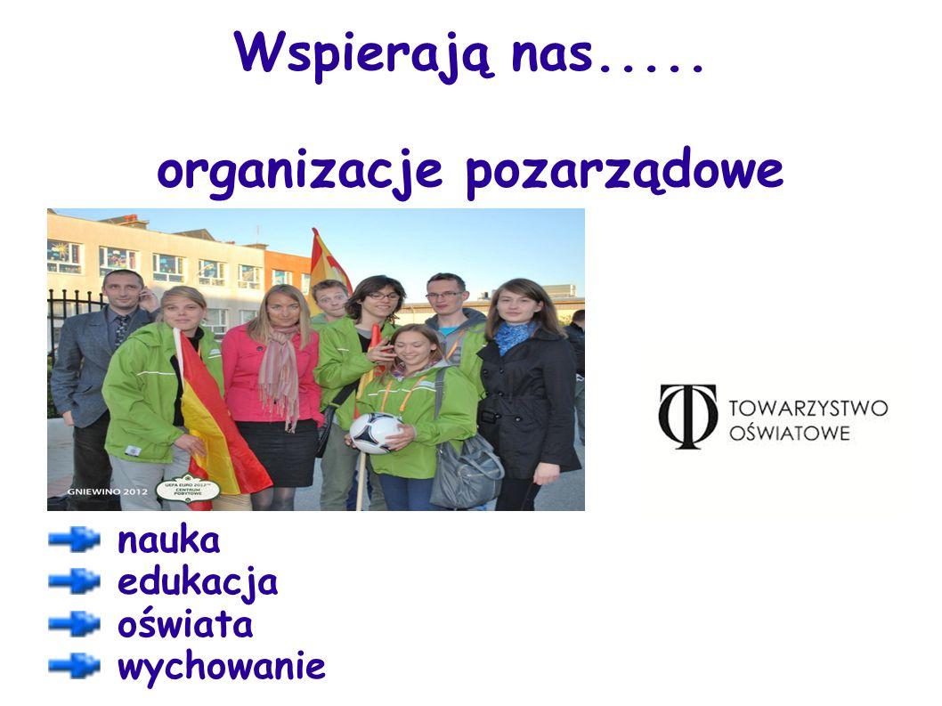 Wspierają nas..... organizacje pozarządowe