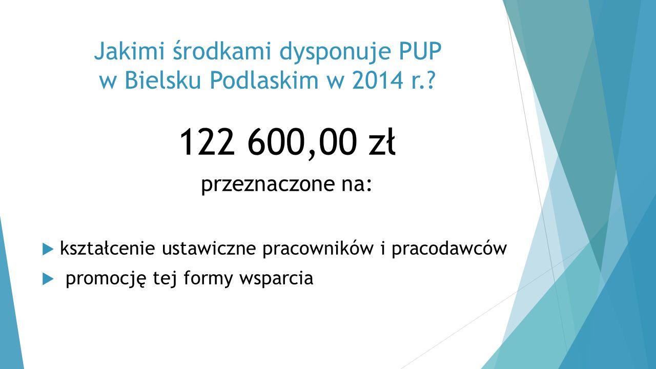 Jakimi środkami dysponuje PUP w Bielsku Podlaskim w 2014 r.