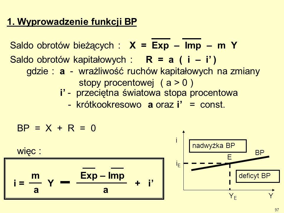 1. Wyprowadzenie funkcji BP
