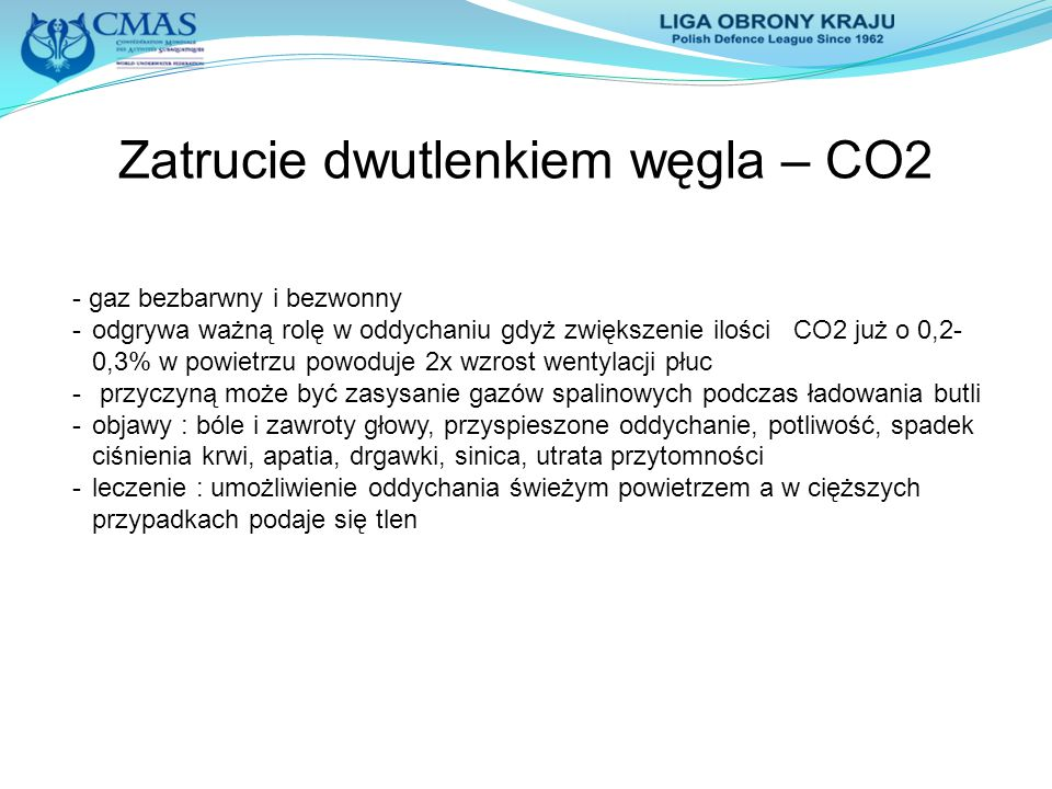 Zatrucie dwutlenkiem węgla – CO2