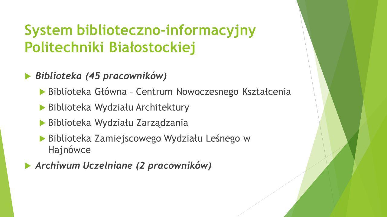 System biblioteczno-informacyjny Politechniki Białostockiej