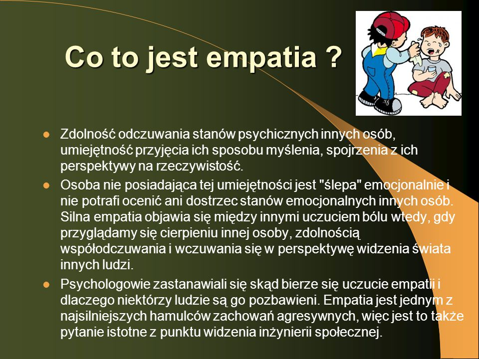Co to jest empatia