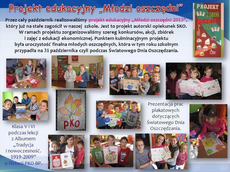 """Projekt edukacyjny """"Młodzi oszczędni"""