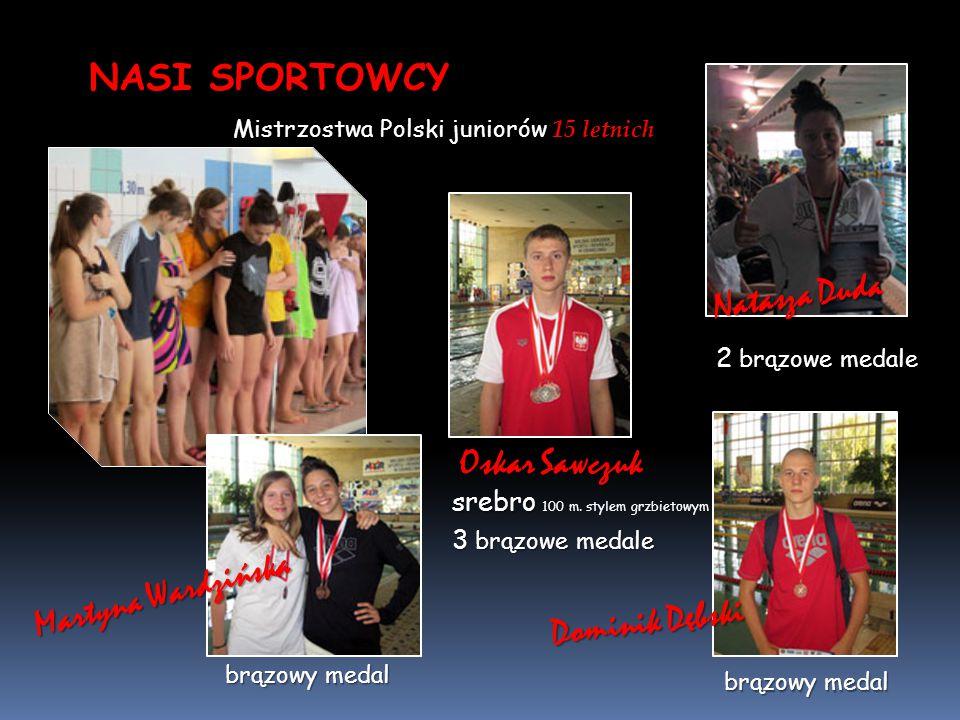 NASI SPORTOWCY Natasza Duda Oskar Sawczuk Martyna Wardzińska