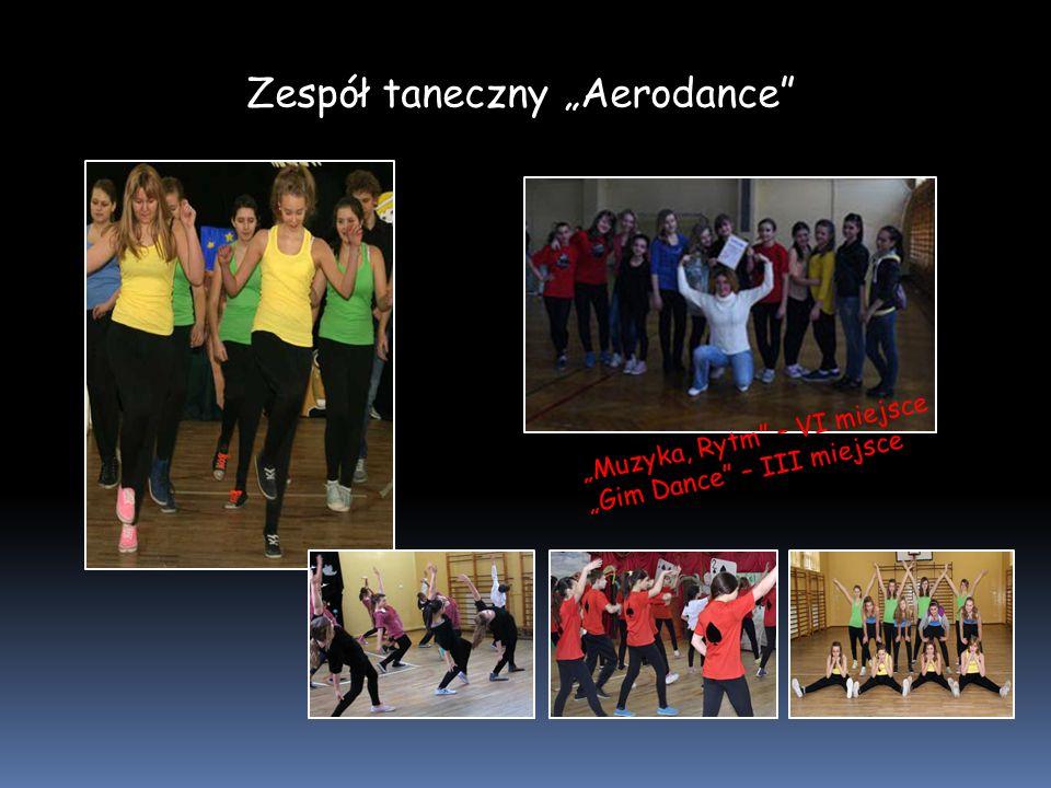 """Zespół taneczny """"Aerodance"""