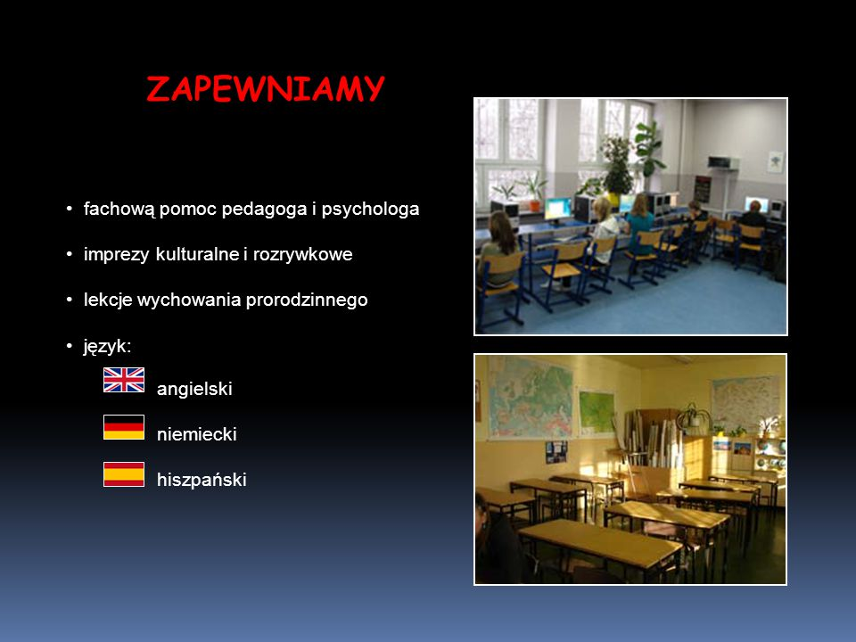 ZAPEWNIAMY fachową pomoc pedagoga i psychologa