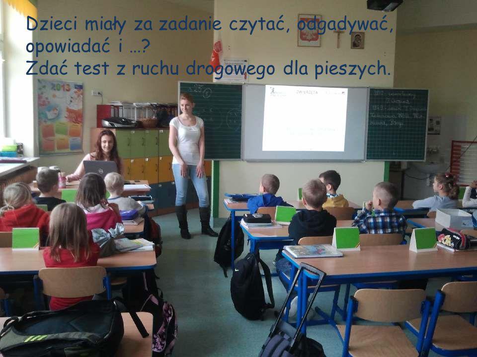 Dzieci miały za zadanie czytać, odgadywać,