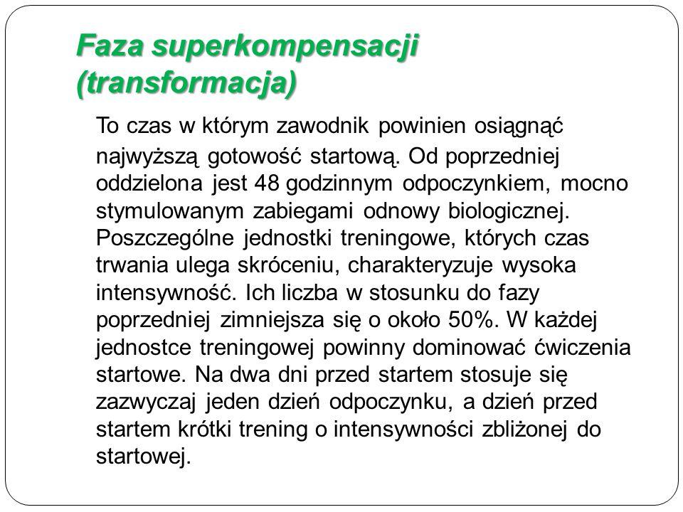 Faza superkompensacji (transformacja)