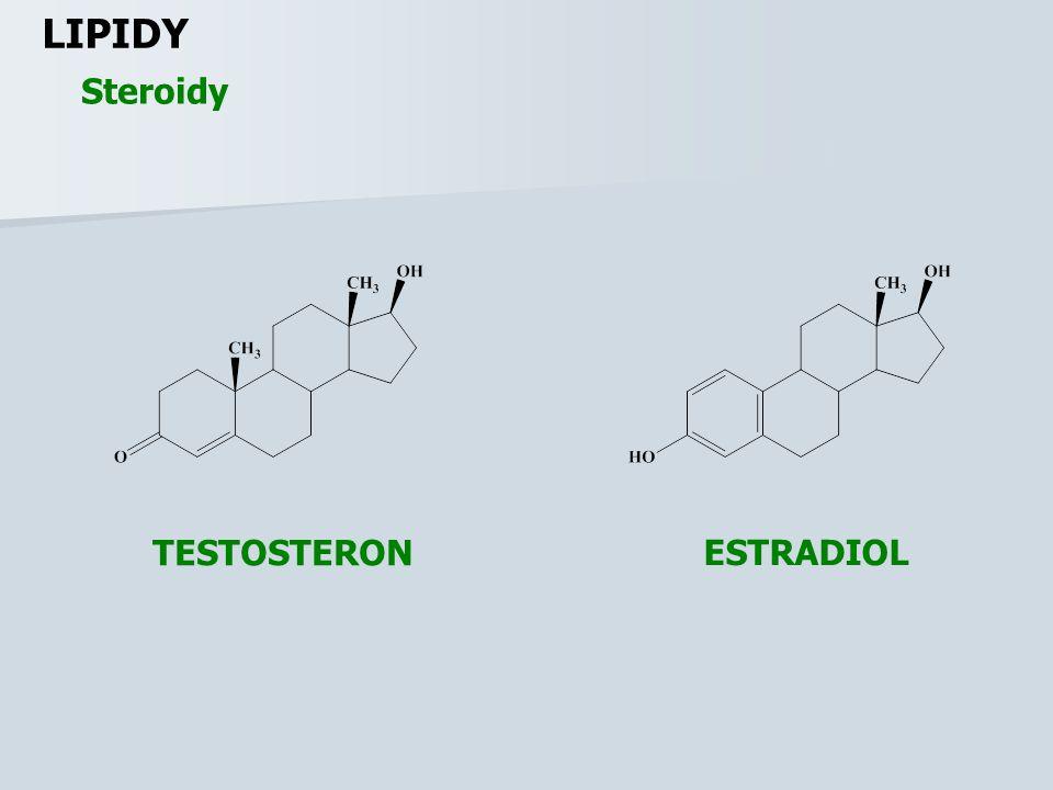 LIPIDY Steroidy TESTOSTERON ESTRADIOL