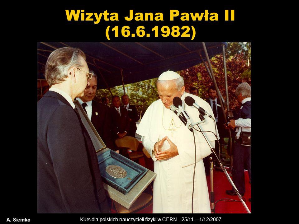 Wizyta Jana Pawła II (16.6.1982) A. Siemko
