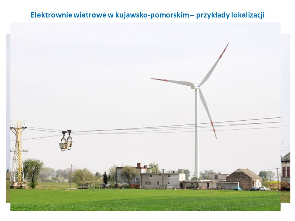 Elektrownie wiatrowe w kujawsko-pomorskim – przykłady lokalizacji
