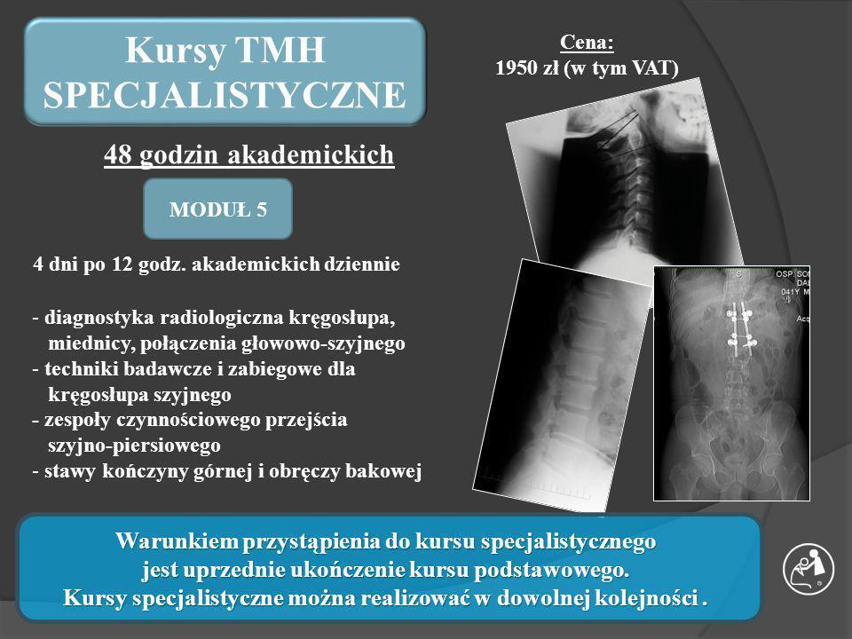 Kursy TMH SPECJALISTYCZNE