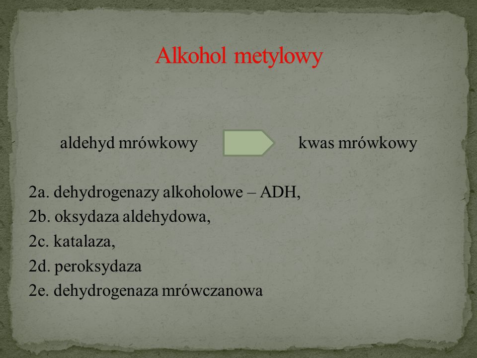 Alkohol metylowy