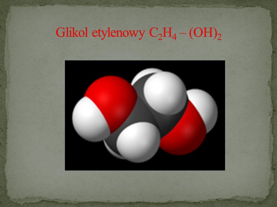 Glikol etylenowy C2H4 – (OH)2