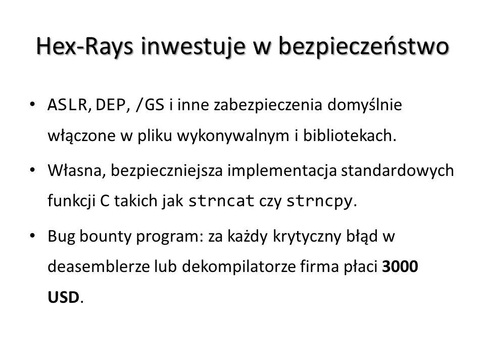 Hex-Rays inwestuje w bezpieczeństwo