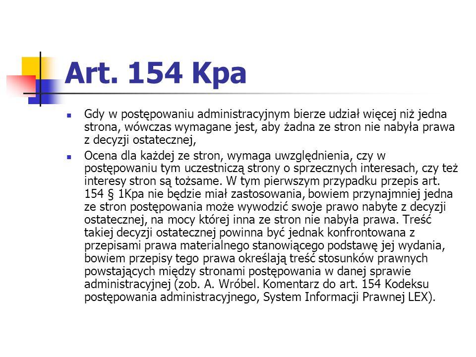 Art. 154 Kpa