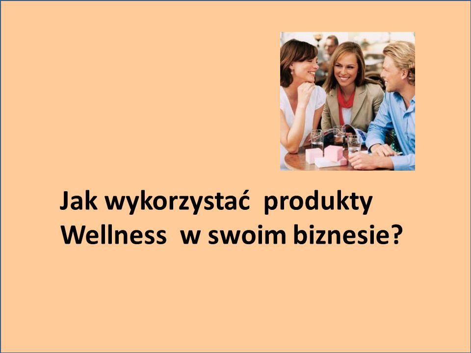Jak wykorzystać produkty Wellness w swoim biznesie