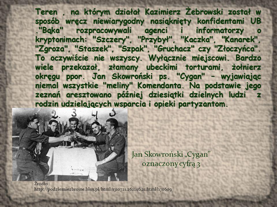 """Jan Skowroński """"Cygan oznaczony cyfrą 3"""