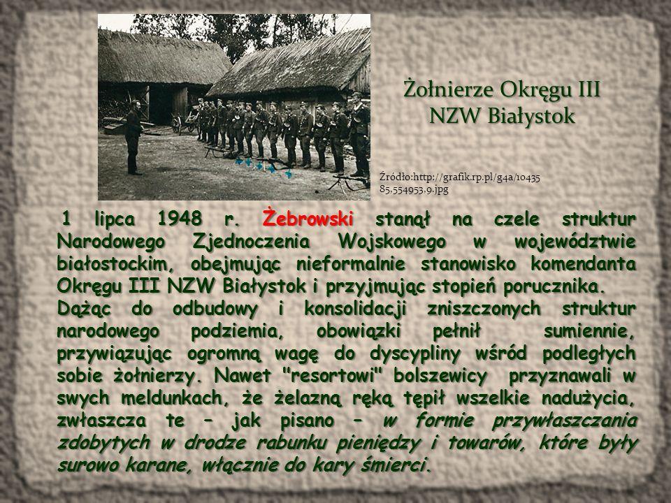Żołnierze Okręgu III NZW Białystok