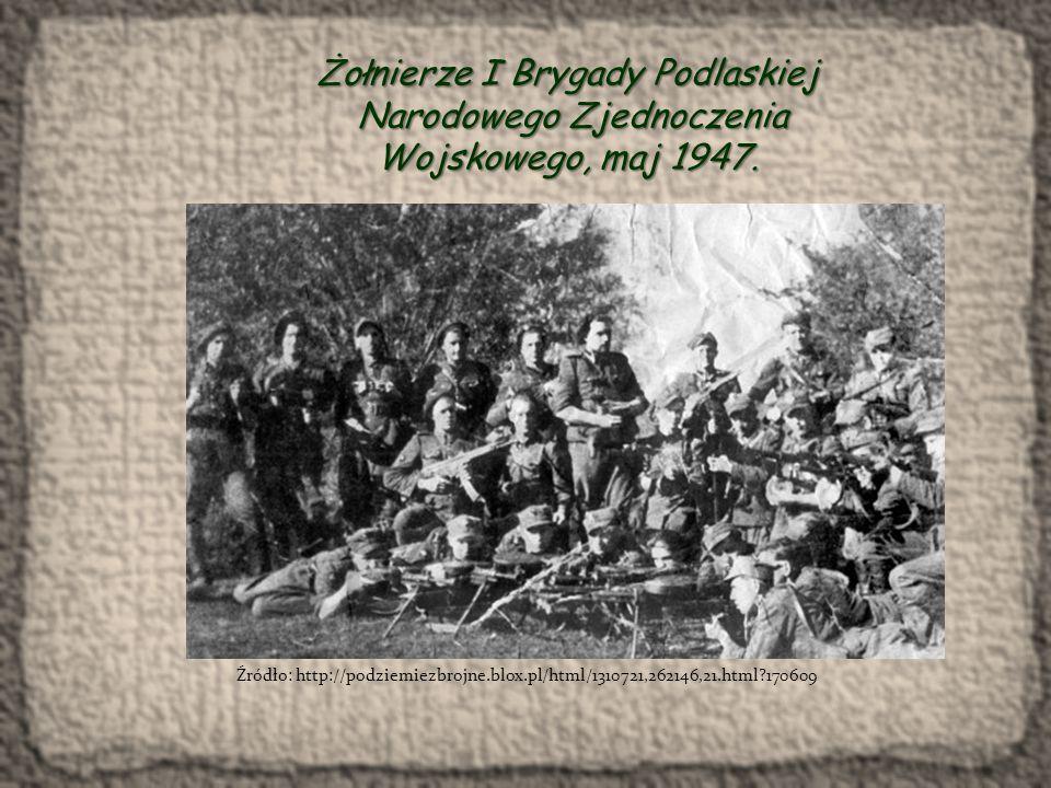 Żołnierze I Brygady Podlaskiej