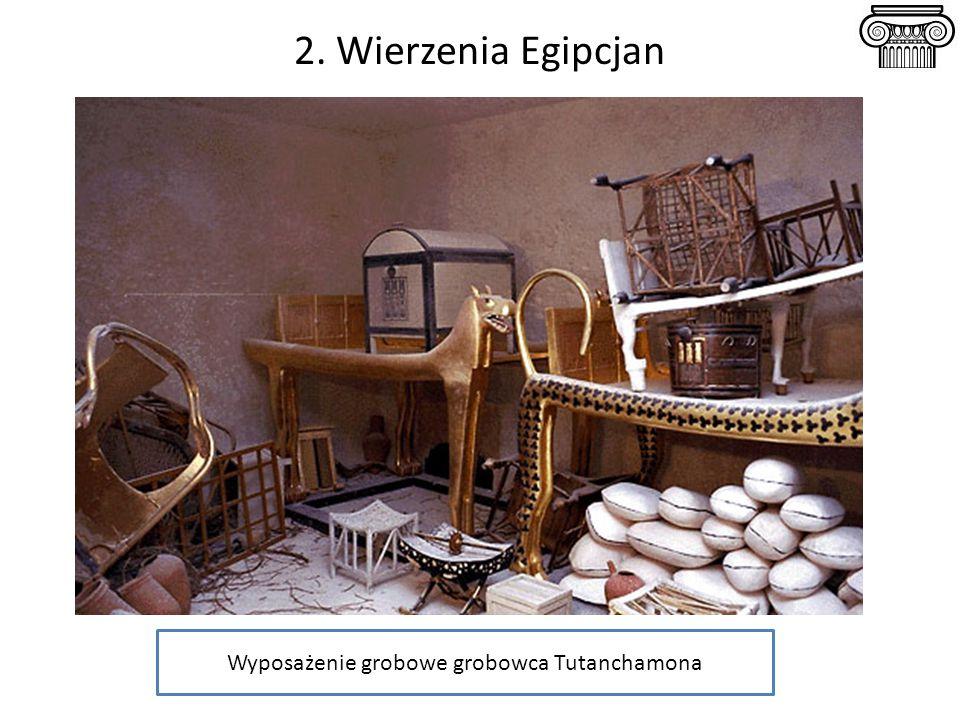 Wyposażenie grobowe grobowca Tutanchamona