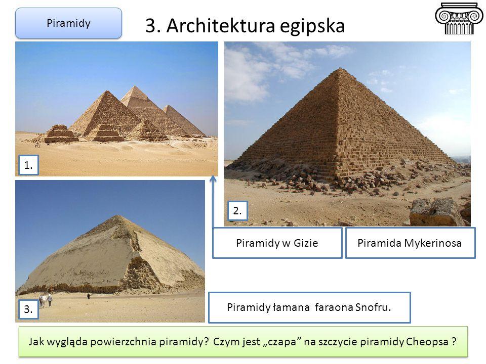 Piramidy łamana faraona Snofru.