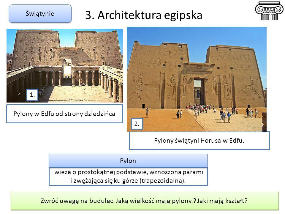 3. Architektura egipska Świątynie 1.