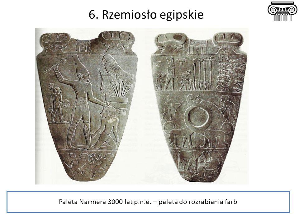 Paleta Narmera 3000 lat p.n.e. – paleta do rozrabiania farb