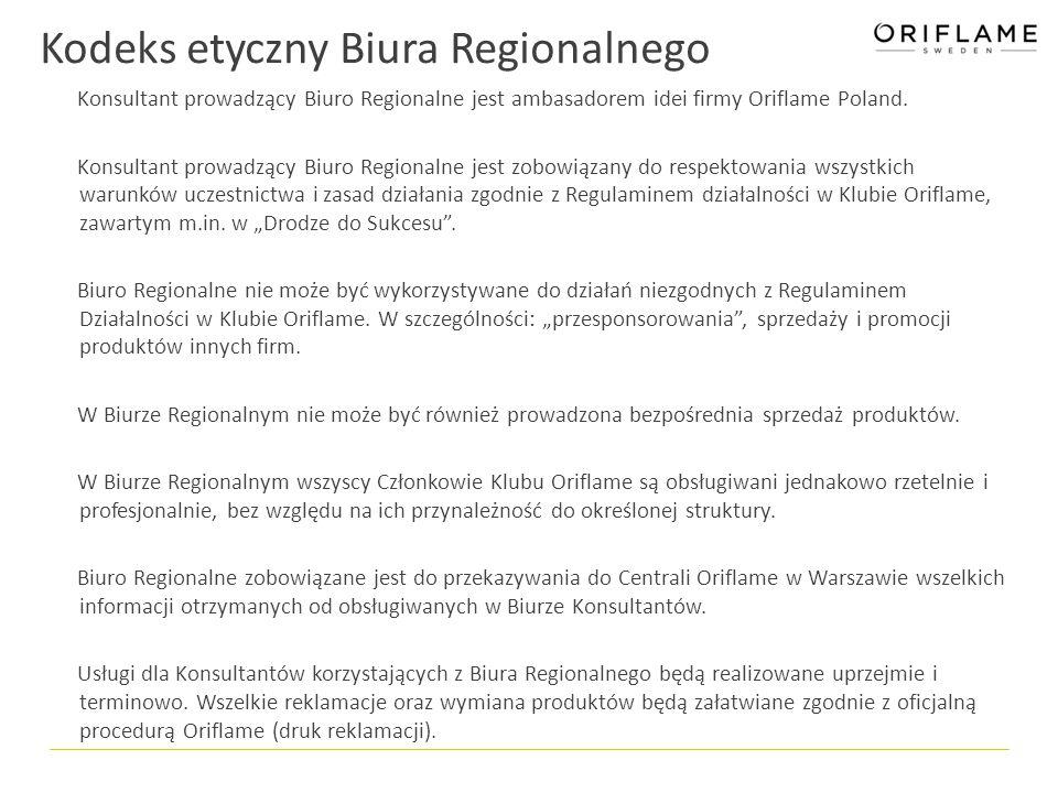 Kodeks etyczny Biura Regionalnego