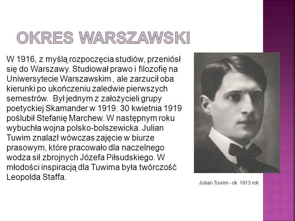 Okres warszawski