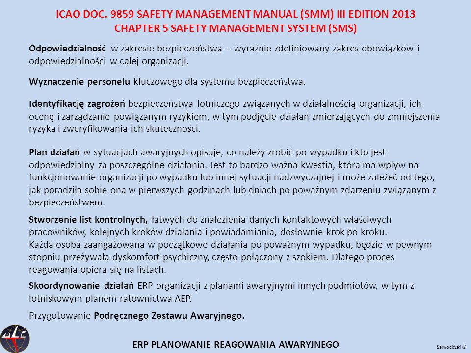 CHAPTER 5 SAFETY MANAGEMENT SYSTEM (SMS)