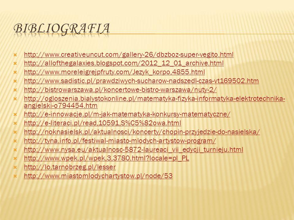 Bibliografia http://www.creativeuncut.com/gallery-26/dbzboz-super-vegito.html. http://allofthegalaxies.blogspot.com/2012_12_01_archive.html.