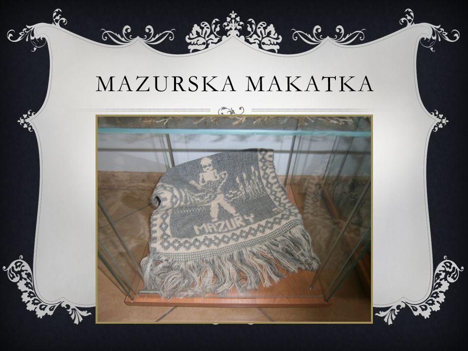 Mazurska makatka