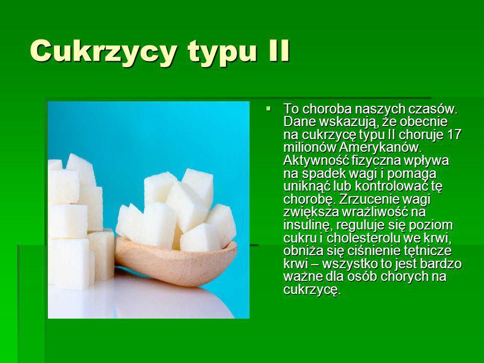 Cukrzycy typu II
