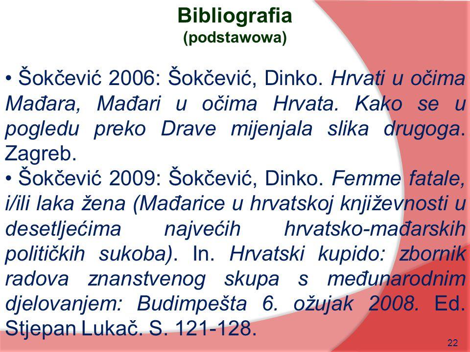 Bibliografia (podstawowa)