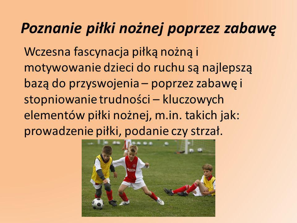 Poznanie piłki nożnej poprzez zabawę