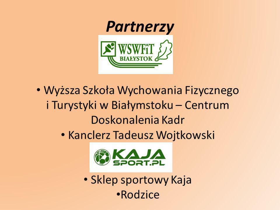 Partnerzy Wyższa Szkoła Wychowania Fizycznego