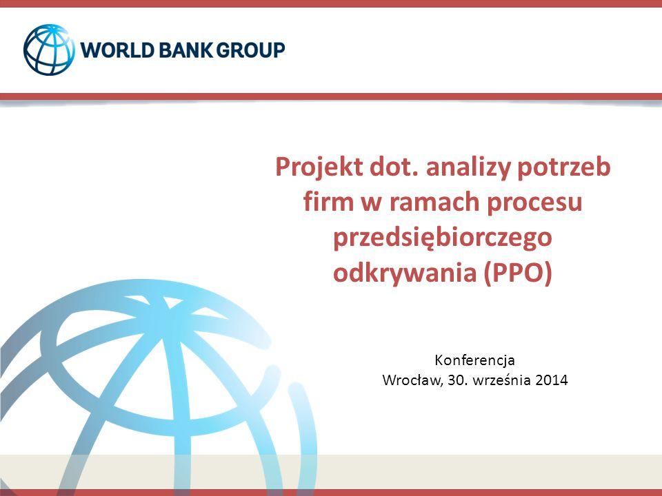 Projekt dot. analizy potrzeb firm w ramach procesu przedsiębiorczego odkrywania (PPO)
