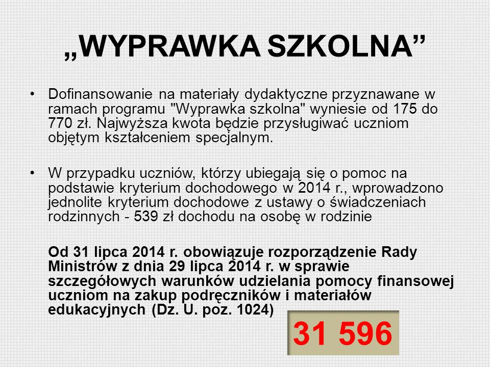 """""""WYPRAWKA SZKOLNA"""