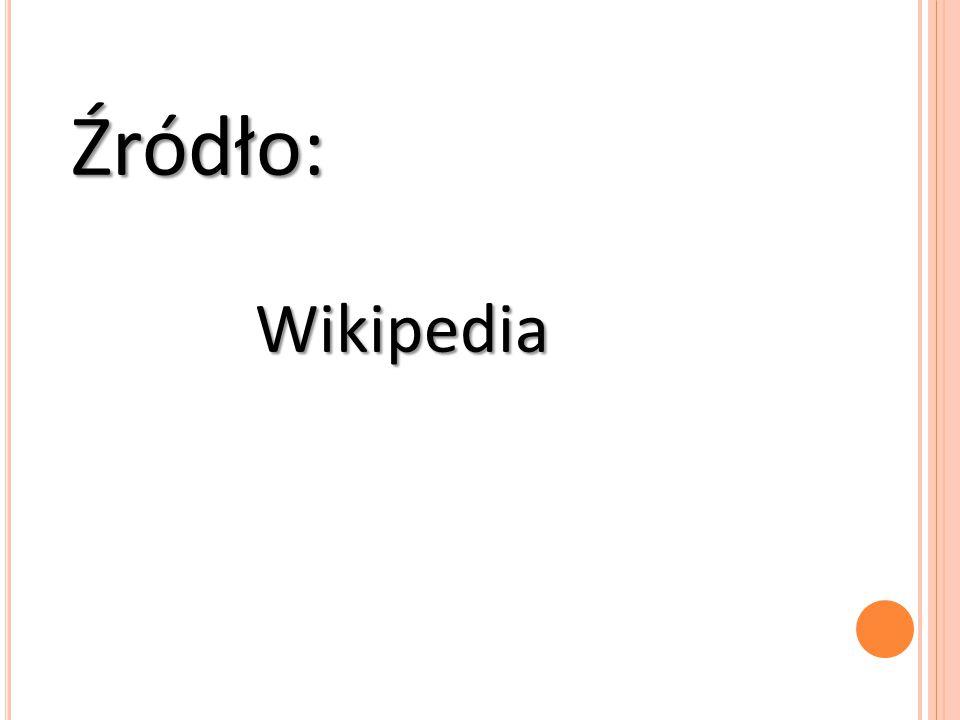 Źródło: Wikipedia