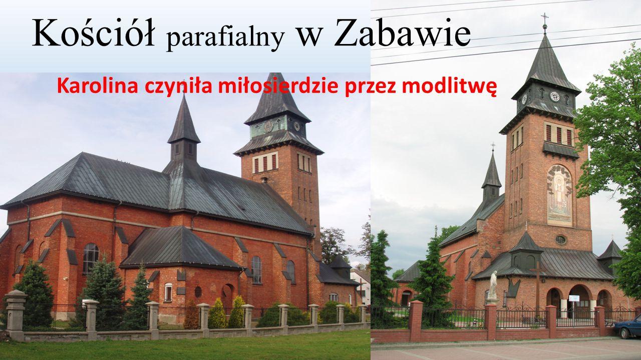 Kościół parafialny w Zabawie