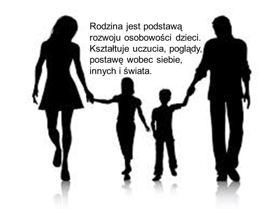 Rodzina jest podstawą rozwoju osobowości dzieci