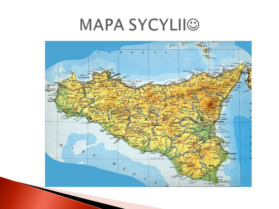 MAPA SYCYLII