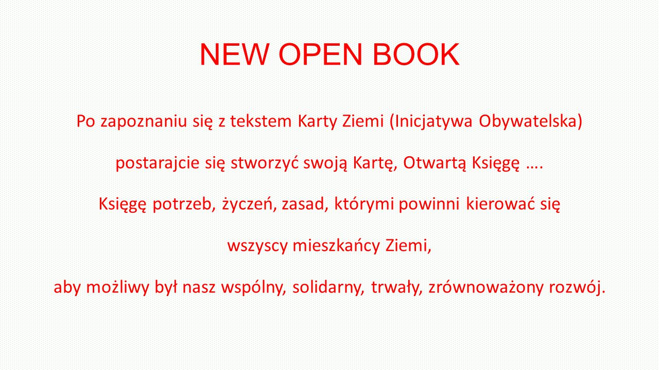 NEW OPEN BOOK
