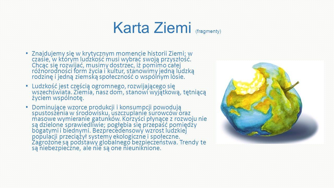 Karta Ziemi (fragmenty)